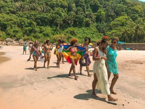 mulheres negras viajantes da bitonga travel