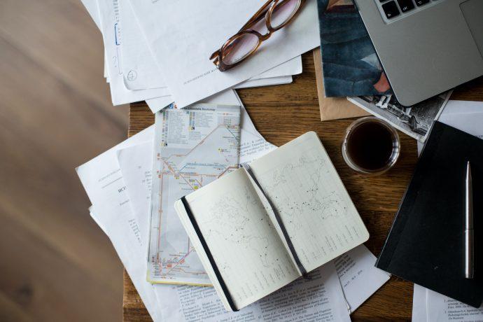 as viagens já começam no planejamento