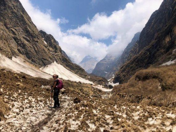 trilha do annapurna base camp