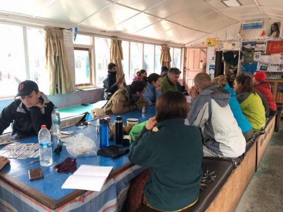 hospedagem na trilha do annapurna base camp