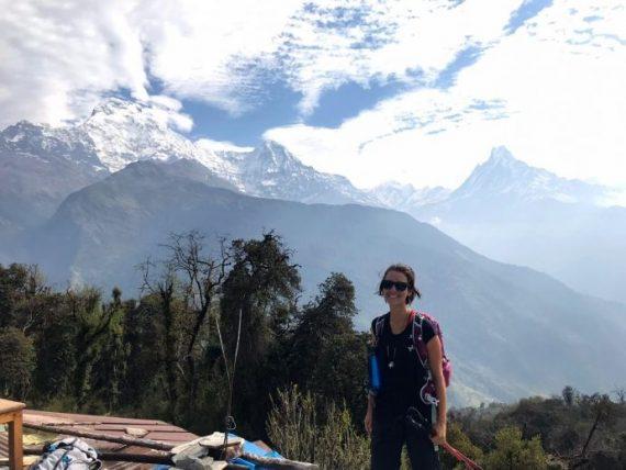 babi a caminho do annapurna base camp