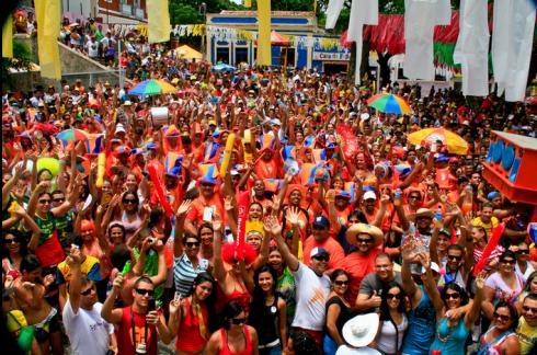 bloco de carnaval em olinda