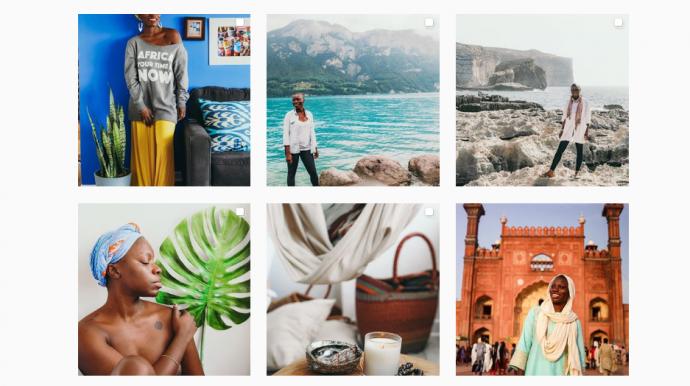 viajantes negros no instagram