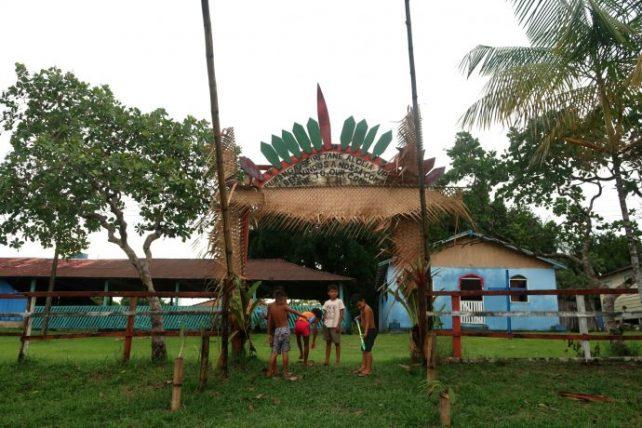 turismo em comunidade indígena