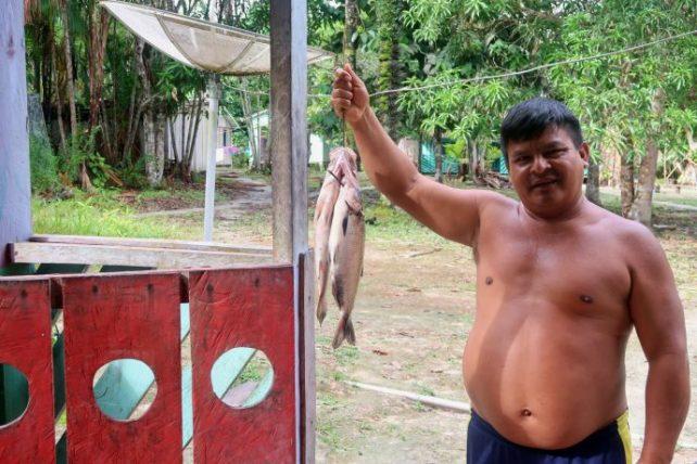 comunidade indígena na amazônia