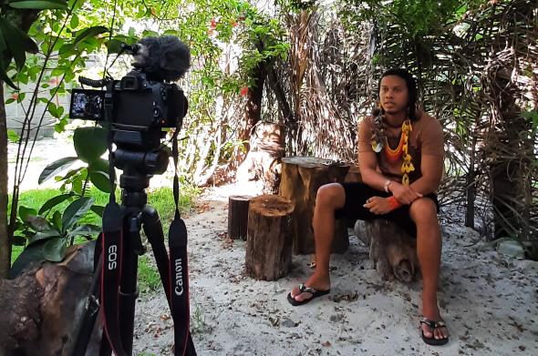 entrevista com tukumã pataxó