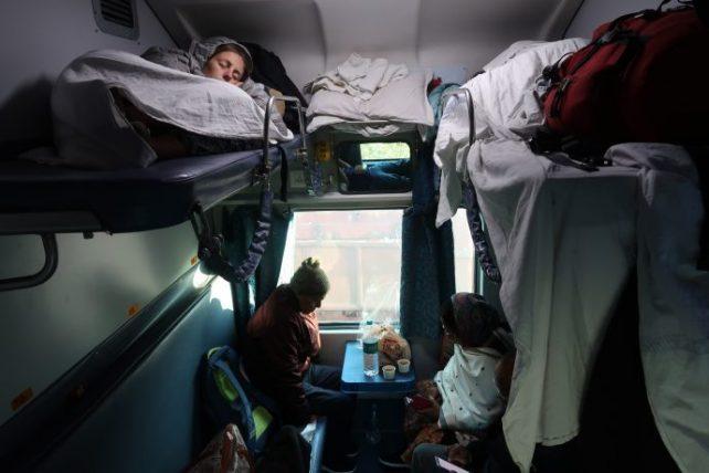 viagem de trem na índia